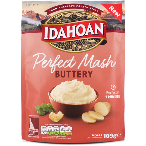 IDAHOAN PERFECT MASH BUTTERY (109 g) - AffamatiUSA