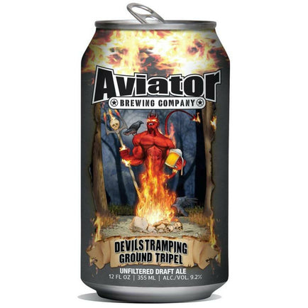 AVIATOR DEVILS TRAMPING GROUND TRIPEL (355 ml) - AffamatiUSA