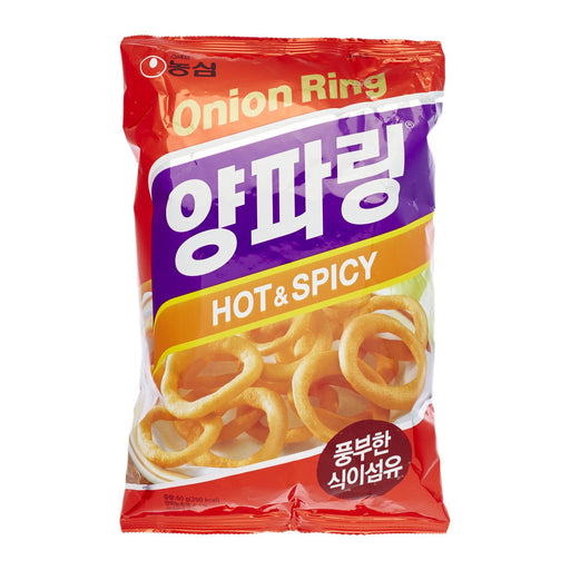 NONGSHIM ONION RINGS HOT & SPICY (40 g) - AffamatiUSA