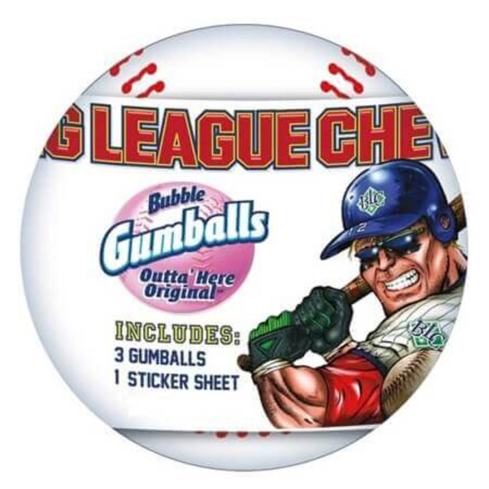 BIG LEAGUE BUBBLE GUM BASEBALL - AffamatiUSA
