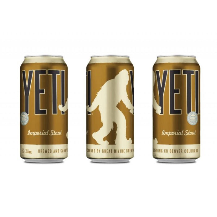 GREAT DIVIDE YETI IMPERIAL STOUT (355 ml) - AffamatiUSA