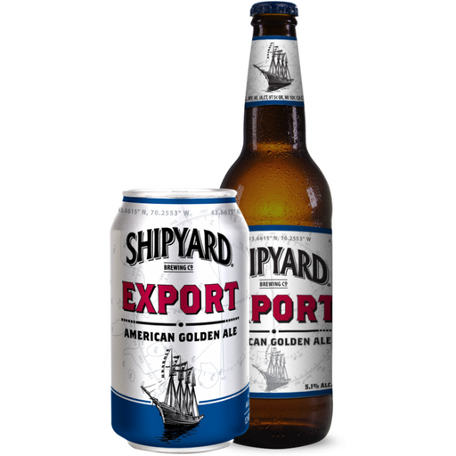 SHIPYARD EXPORT AMERICAN GOLDEN ALE (355 ml) - AffamatiUSA