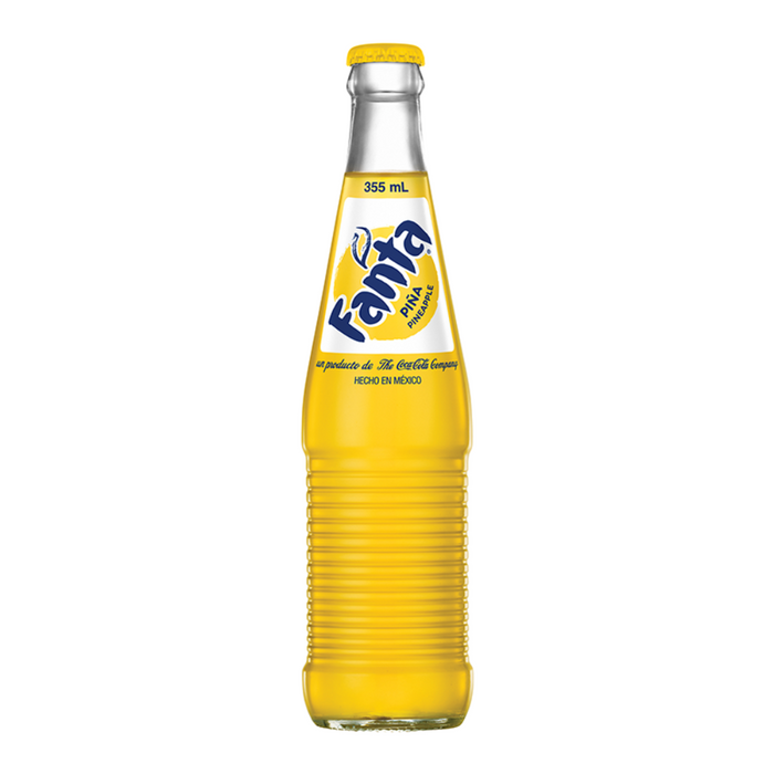 MEXICAN FANTA PINEAPPLE SODA (355 ml) - AffamatiUSA