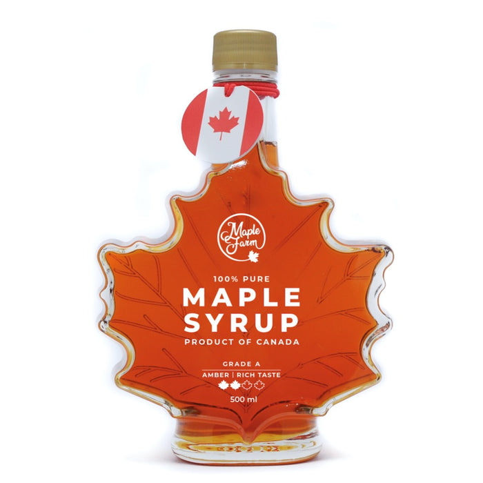 MAPLE FARM SCIROPPO D'ACERO CANADESE AMBER (500 ml) - AffamatiUSA