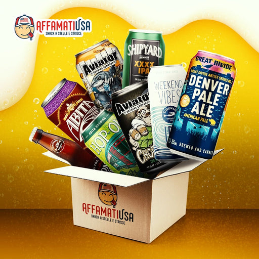 AMERICAN BEER BOX - AffamatiUSA