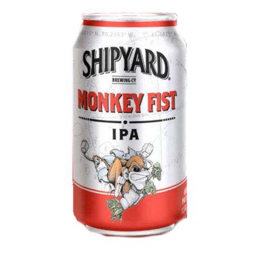 SHIPYARD MONKEY FIST IPA (355 ml) - AffamatiUSA