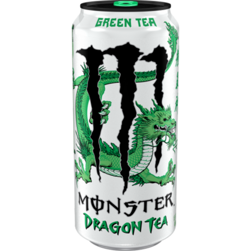 MONSTER DRAGON TEA GREEN TEA (458 ml) - AffamatiUSA