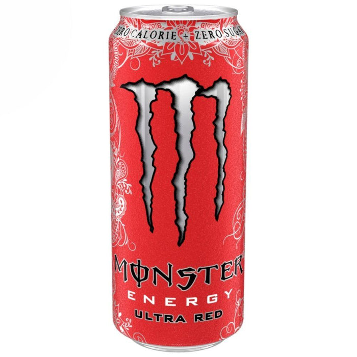 MONSTER ENERGY ULTRA RED (500 ml) - AffamatiUSA