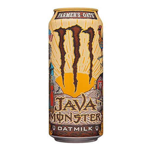 MONSTER JAVA OATMILK FARMER'S OATS (443ml) - AffamatiUSA