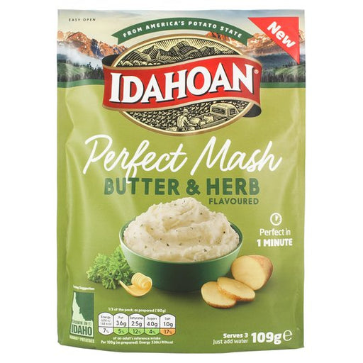 IDAHOAN PERFECT MASH BUTTER & HERB (109 g) - AffamatiUSA