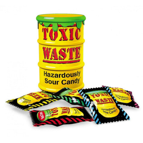 TOXIC WASTE YELLOW TUBS (42 g) - AffamatiUSA