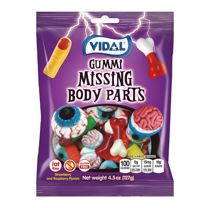 VIDAL GUMMI MISSING BODY PARTS (128 g)