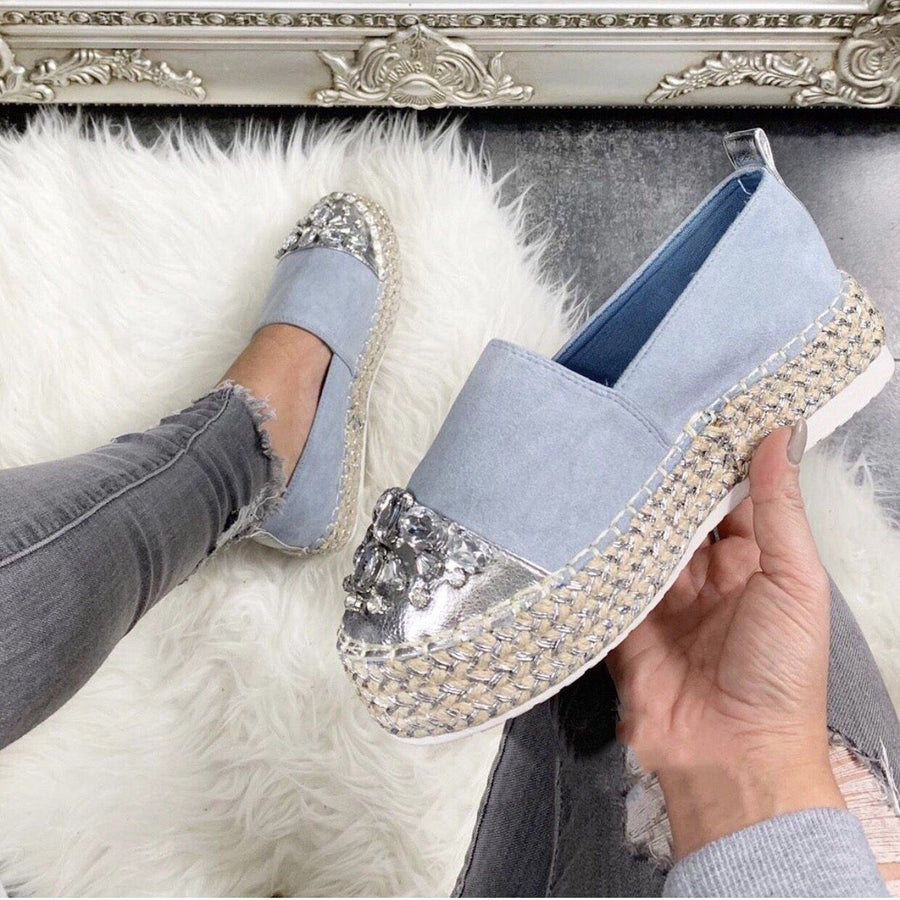 Espadrillas con strass - R.a. Boutique