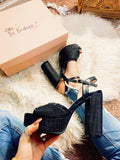 Open Toe Black