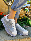 Sneakers con brillantini