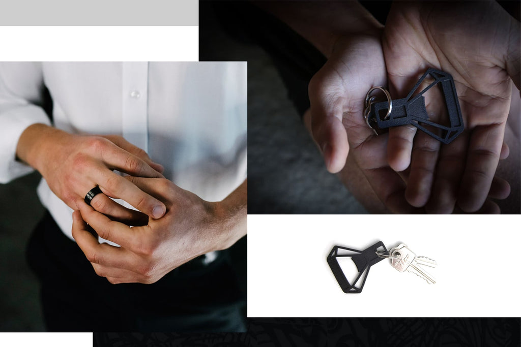 Ring and Bottle Opener by Burton Metal Depository