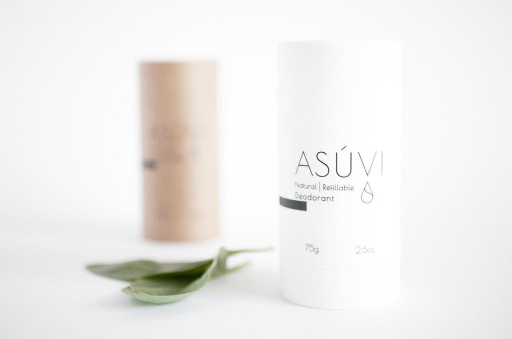 ASUVI natural vegan deodorant
