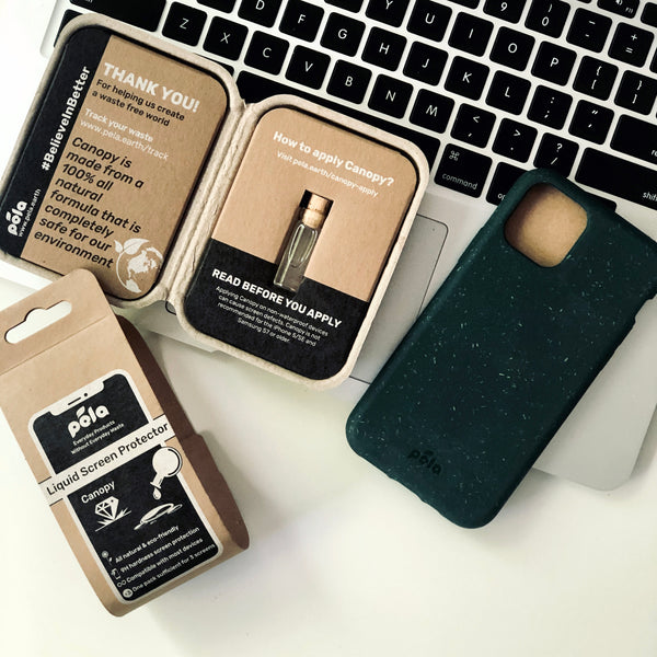 Pela Eco-Friendly Phone Case and Zero Waste Screen Protector