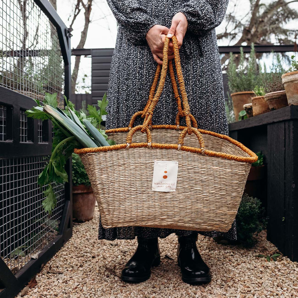 Seagrass Zero Waste Shopping Basket