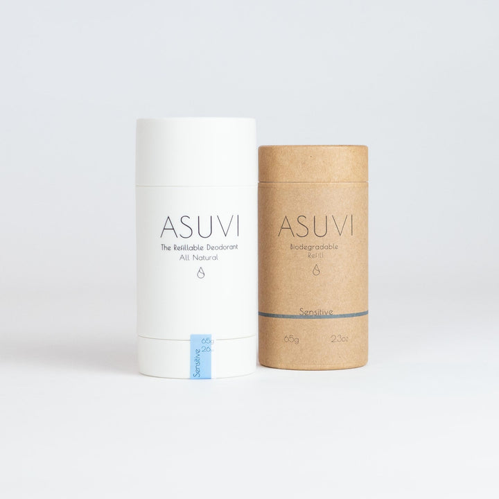 Sensitive Refillable Natural Deodorant