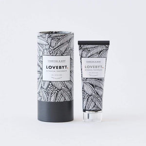 LOVEBYT Natural Toothpaste Charcoal & Mint