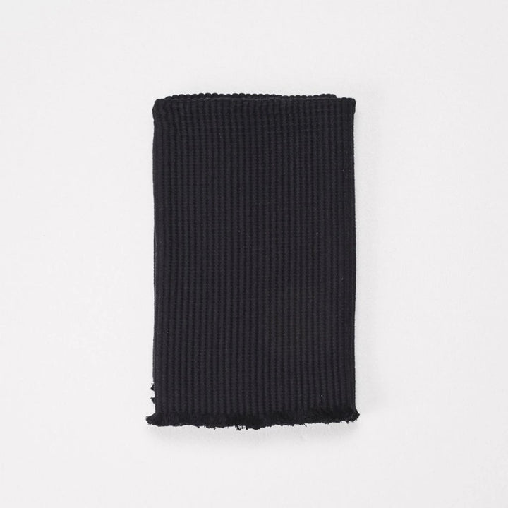 Cloth & Co Organic Cotton Bath Mat - Black