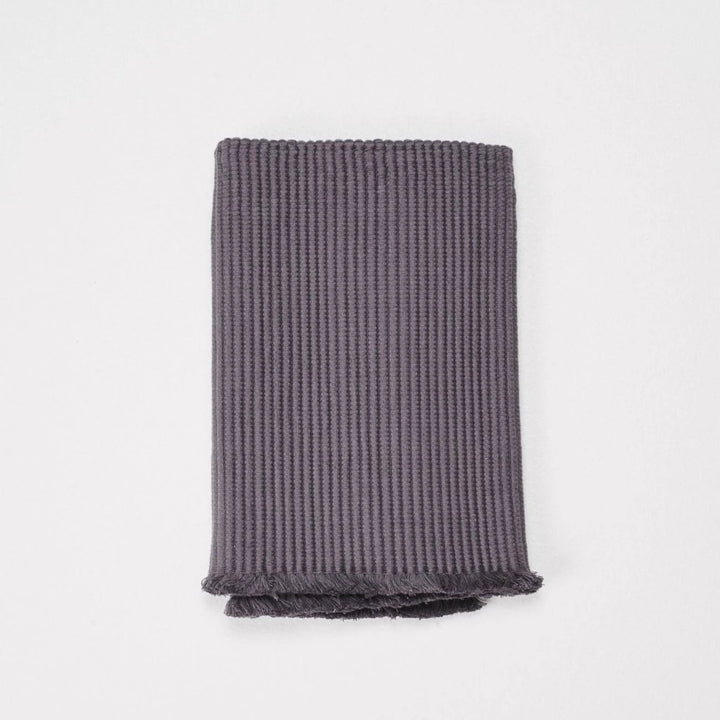 Cloth & Co Organic Cotton Bath Mat - Iron Grey