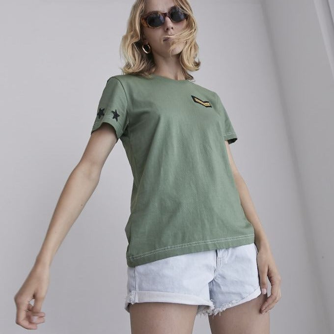 Elvie Military Star T-Shirt