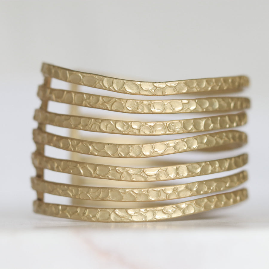 Finders and Makers Fusion Panache Statement Cuff Bracelet