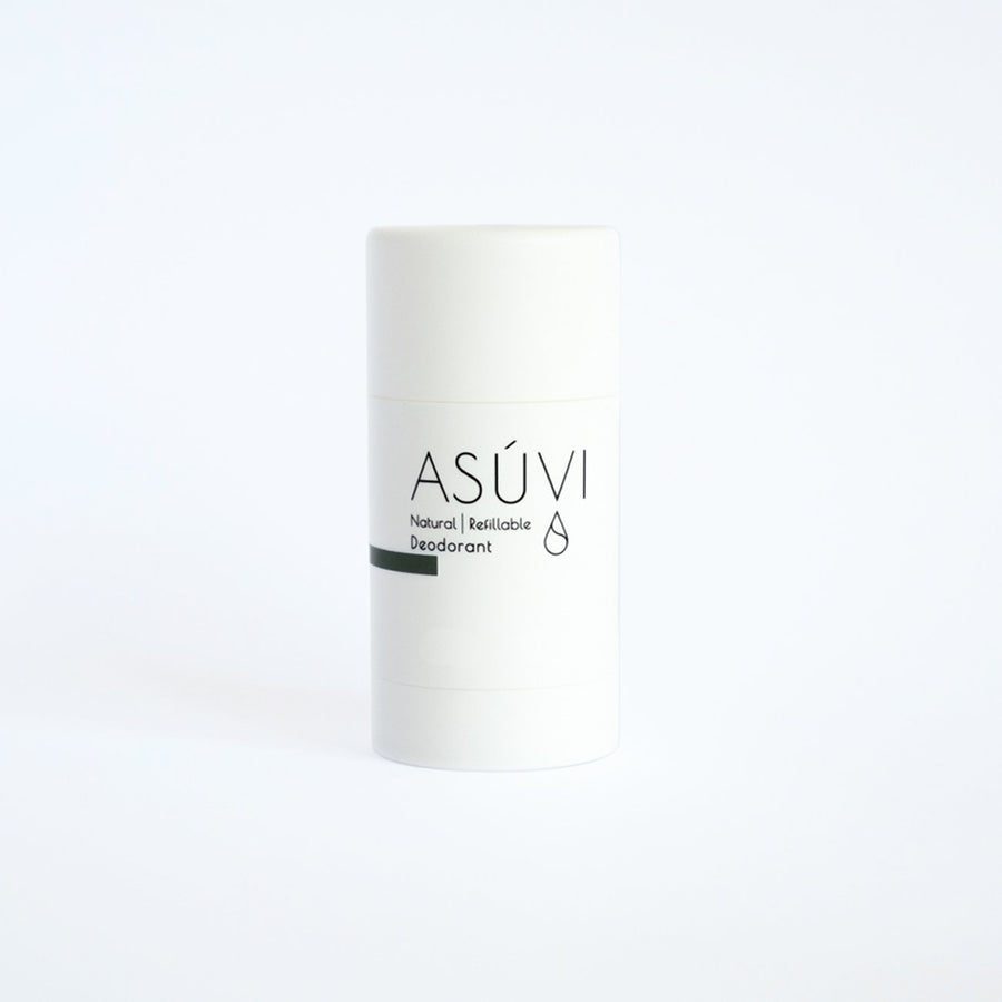 Asuvi Palm Grove Refillable Natural Deodorant