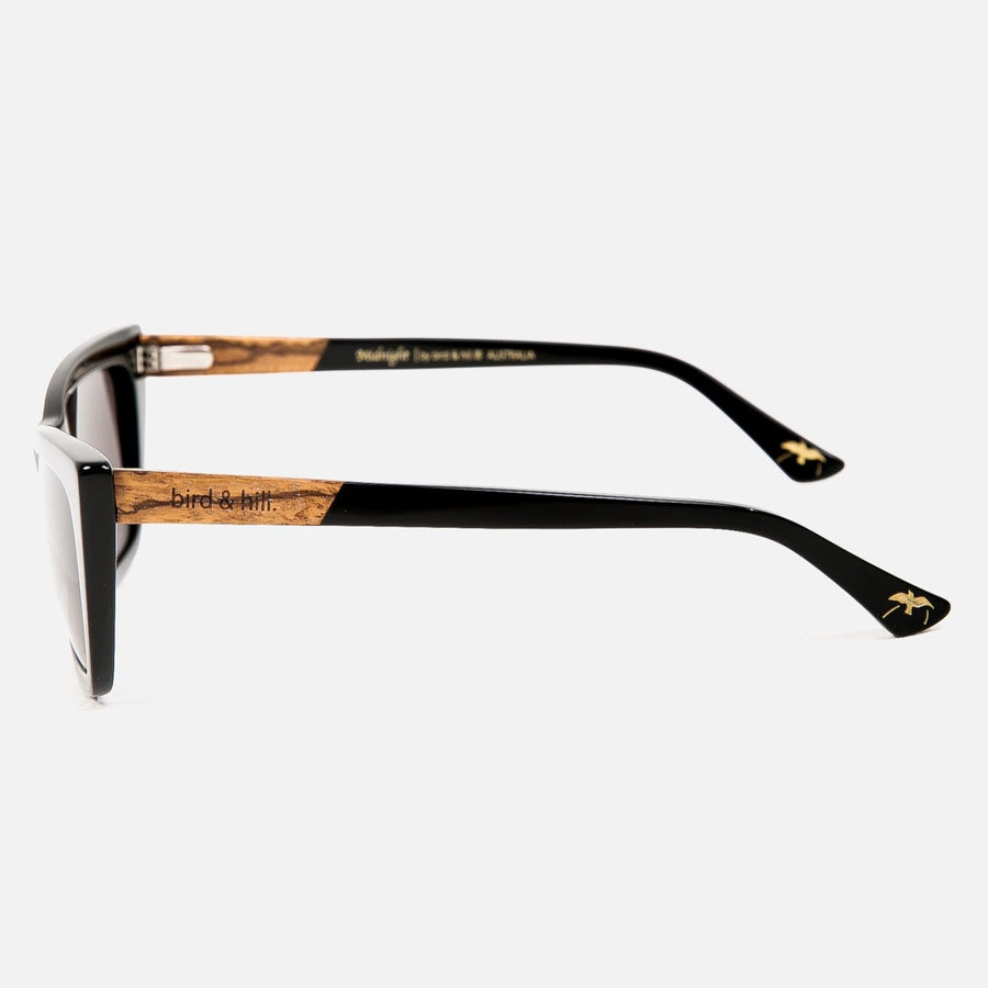 Bird & Hill Midnight Sunglasses