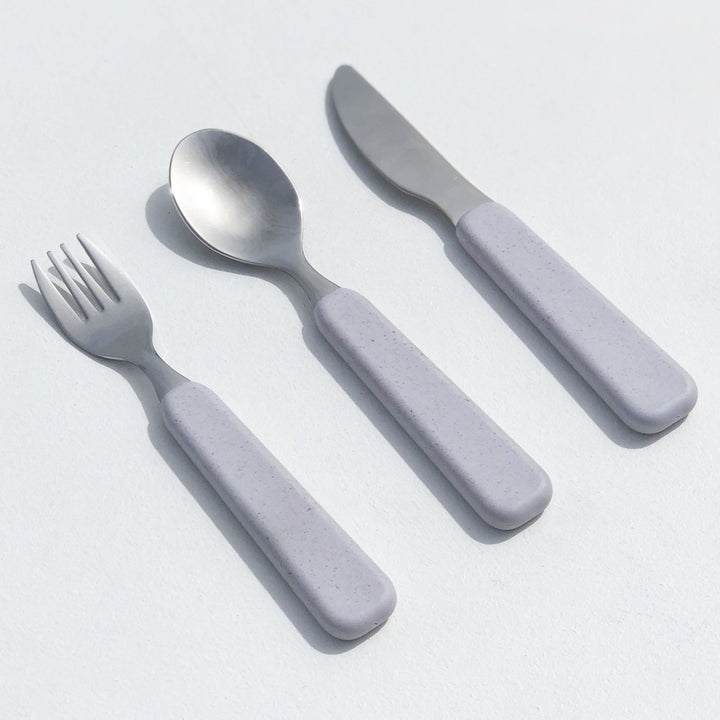 Children's Plastic-Free Cutlery Set - Seashell