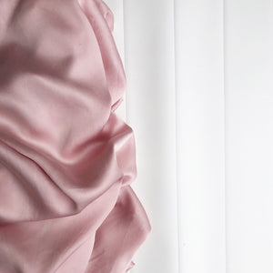 Bamboo Cot Sheets (Dusty Rose - 2 x Fitted Sheets) by Amelia Frank