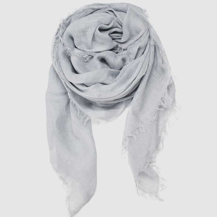 Cloth & Co Linen Scarf - Chambray