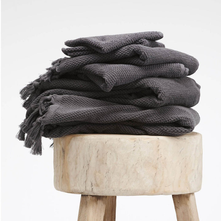 Cloth & Co Ethical Organic Cotton Bath Towels - Iron