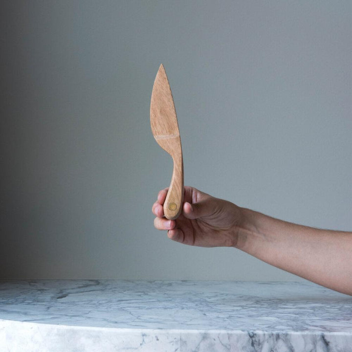 Mango Wood Cheese Knife by The Wood People