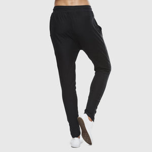 Organic Cotton Slub Lounge Pant - Black