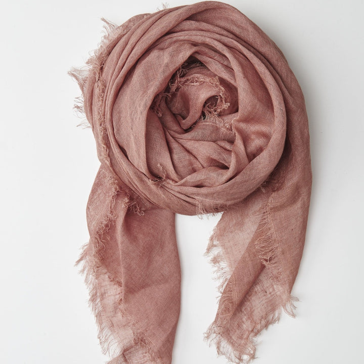 Cloth & Co Linen Scarf - Cedar