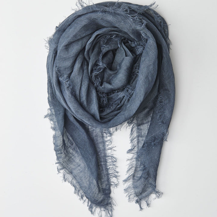 Cloth & Co Linen Scarf - Sealord