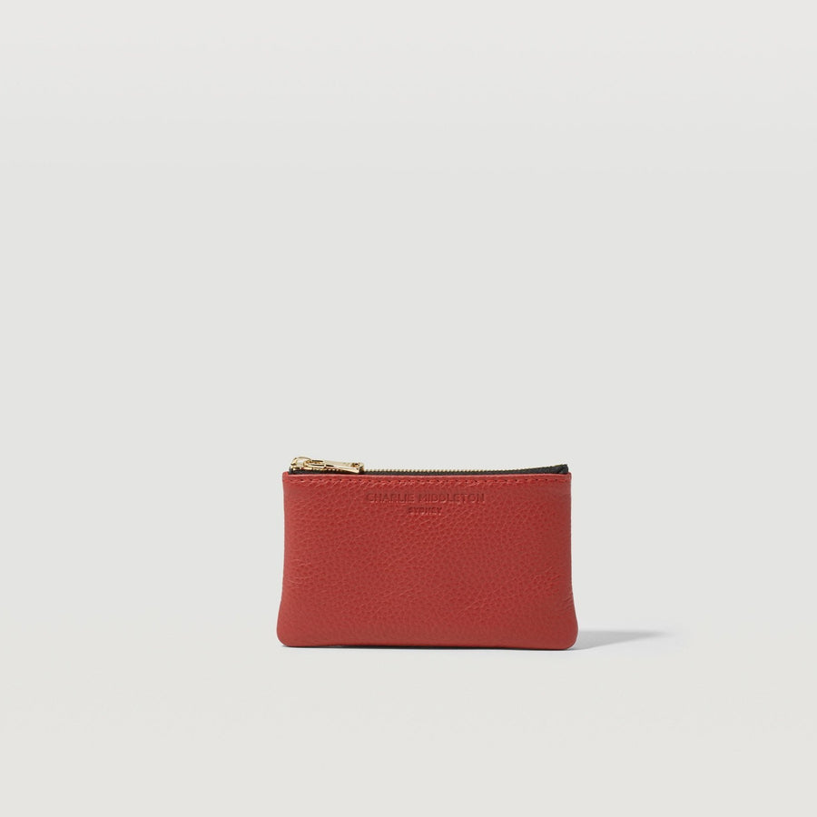 Crimson Vogue Coin Purse