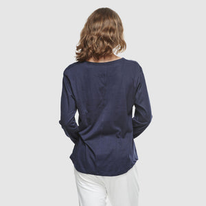 Crew Neck Long Sleeve - French Navy