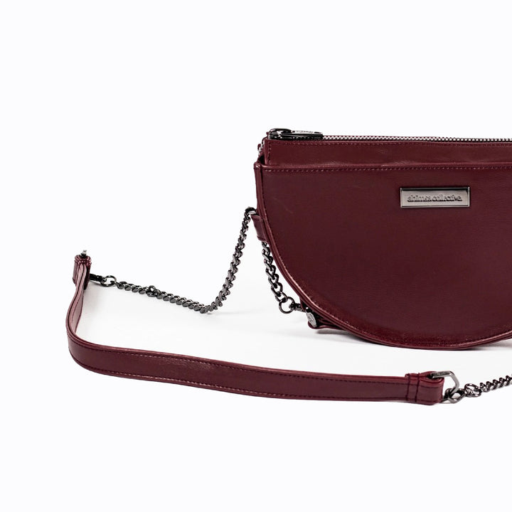 The Ahimsa Collective Halfmoon Mini - Maroon