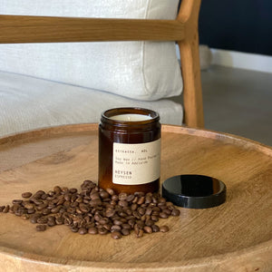 Heysen // Espresso // Hand Poured Candle - Single Wick