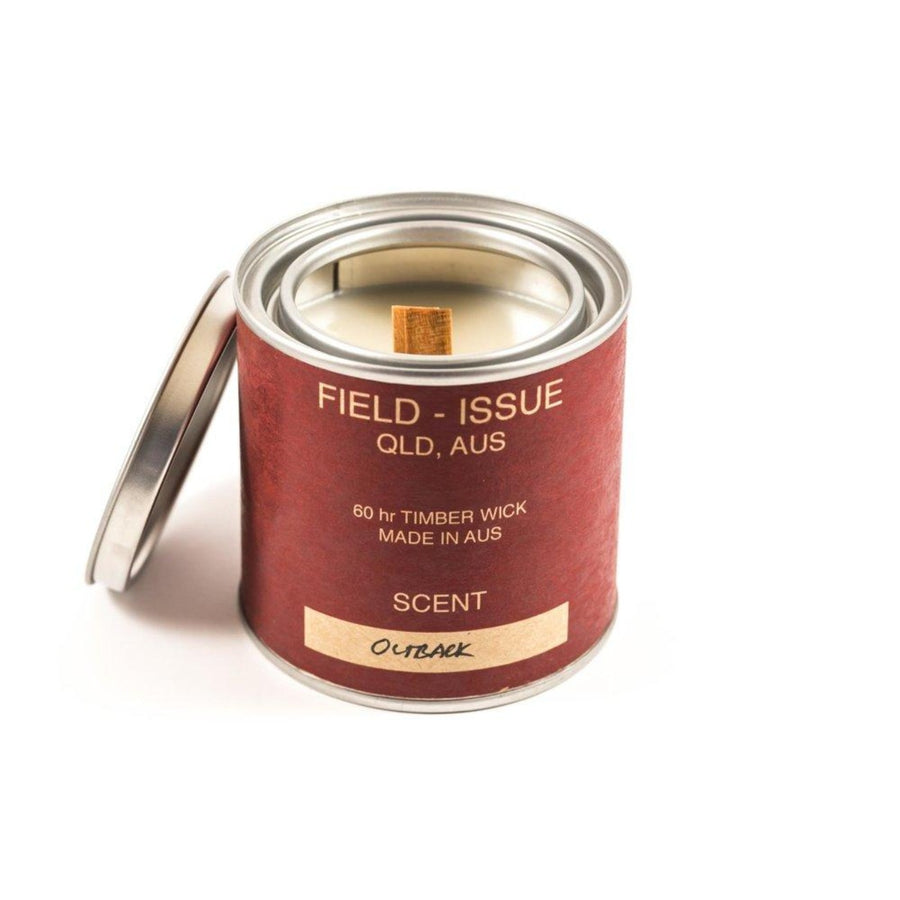 Outback Wood Wick Candle by Field-Issue