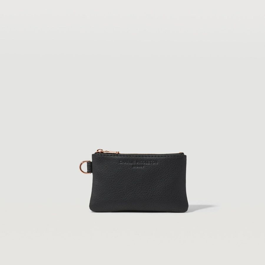 Black Nappa Juliette Purse