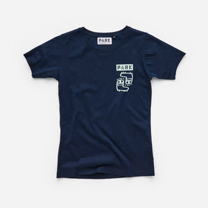 PARK Kid's Foots T-Shirt - Navy