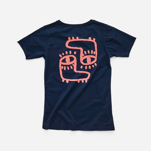PARK Youth Foots T-Shirt - Navy