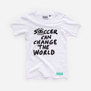 Youth SCCTW Organic Cotton T-Shirt - White