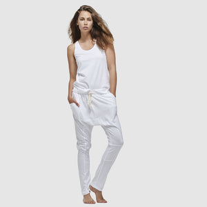 Lounge Pant | White by Cloth & Co