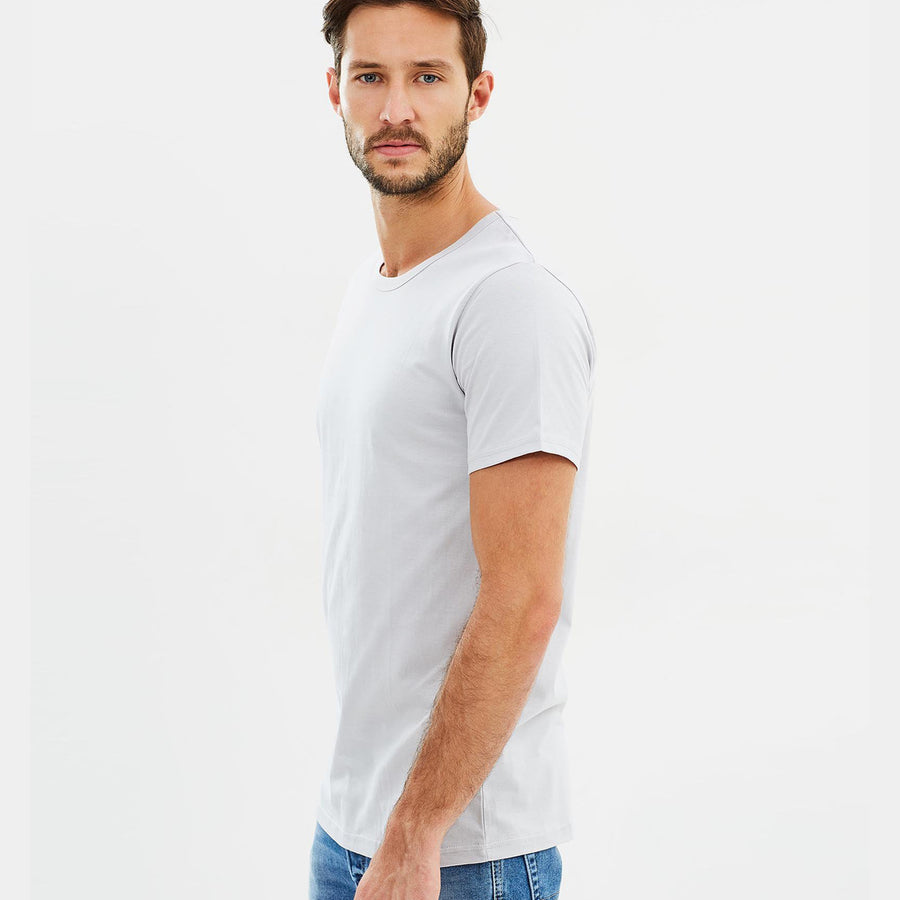Organic Cotton Mens T-Shirt  - Dove Grey by Cloth & Co